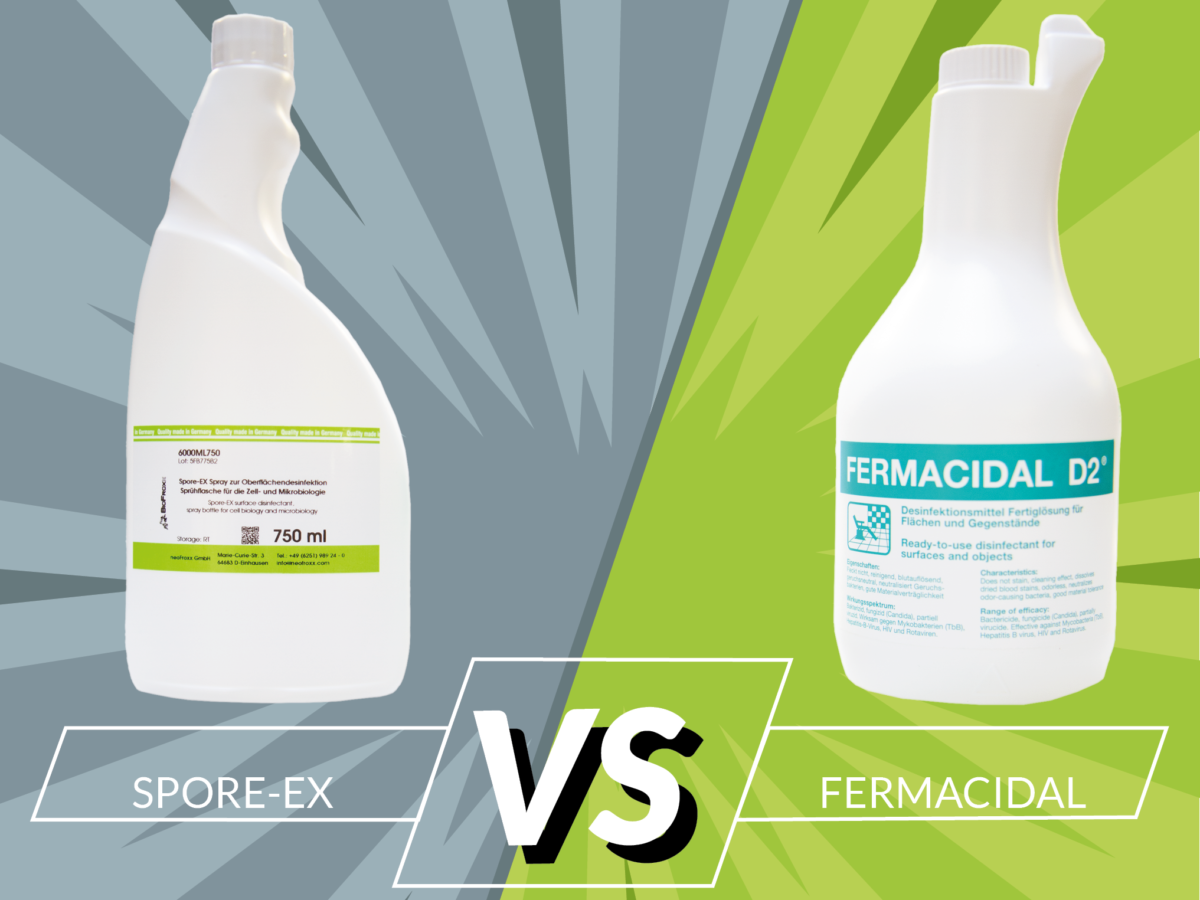 neoFroxx vergleicht Fermacidal vs Spore-Ex