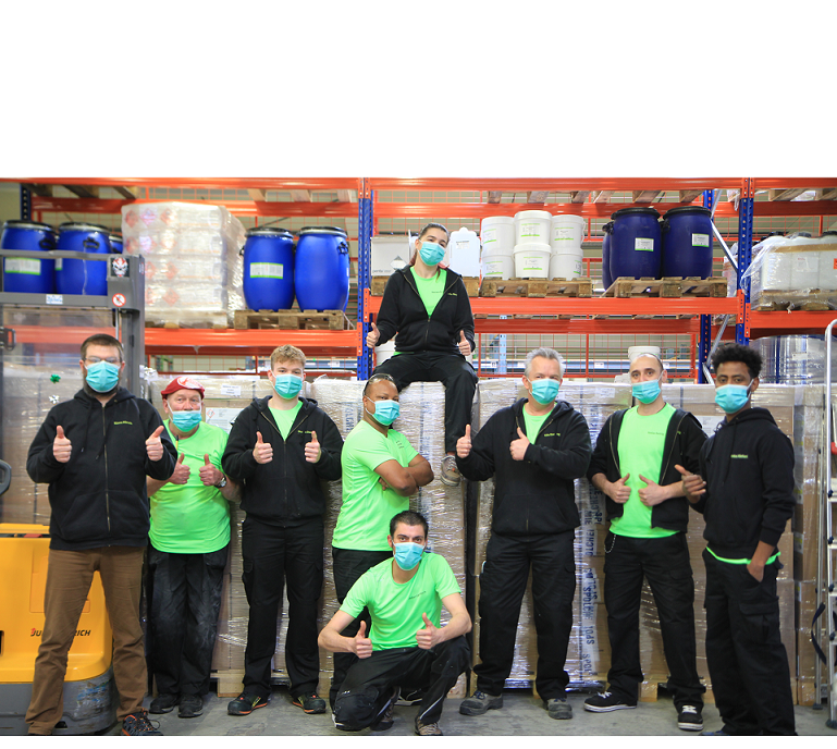 neoFroxx logistics and production-Team