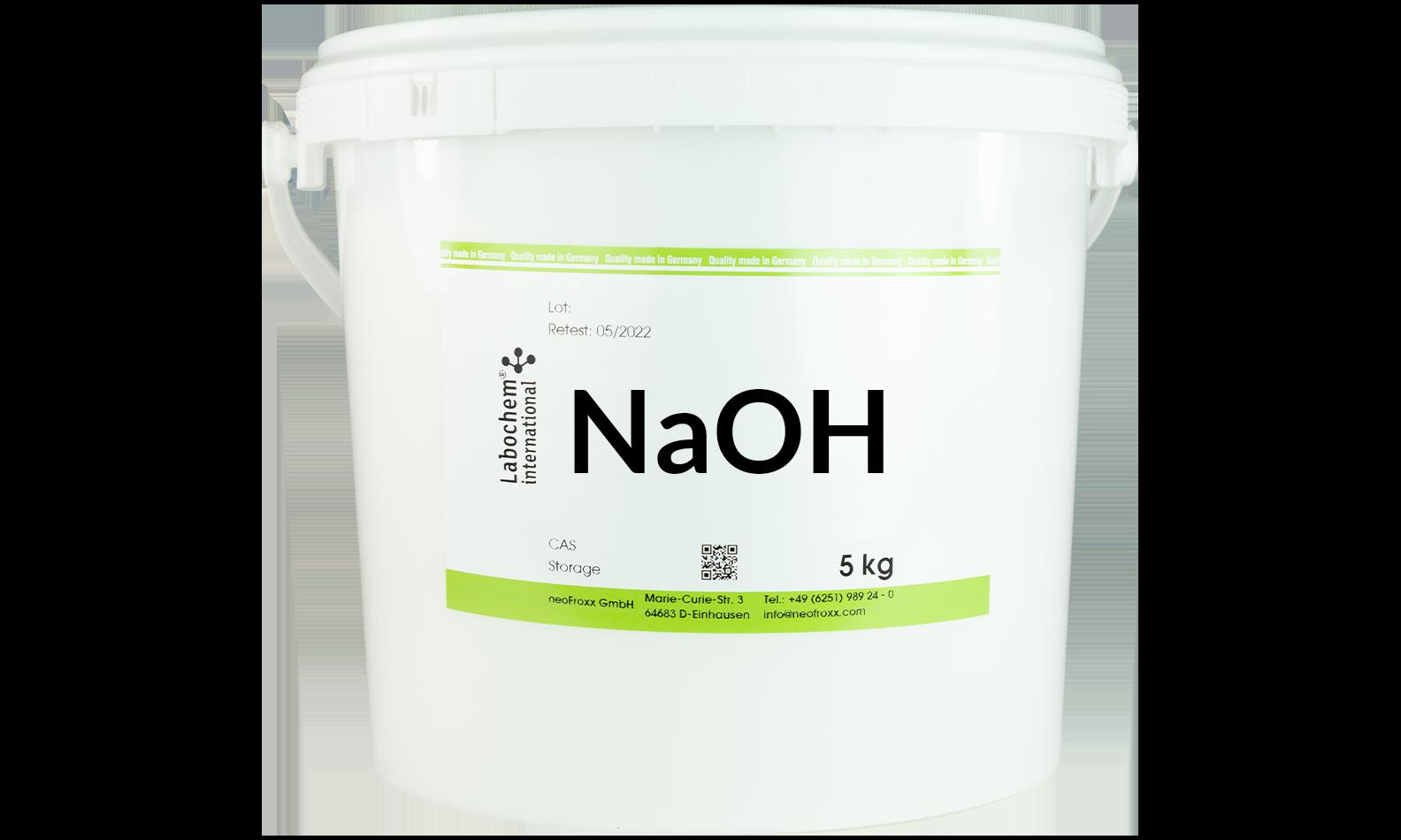 Natriumhydroxid-Plätzchen zur Analyse